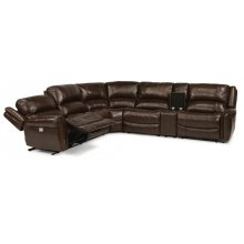 Brazen Leather Power Sectional