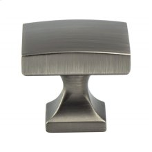 Century Edge Vintage Nickel Knob