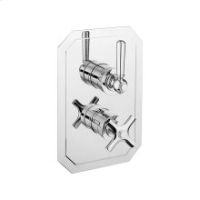 Waldorf 1000 Thermo Valve Trim (1 Outlet) - Polished Chrome