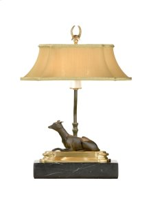 Greyhnd Bkcase Lamp-l