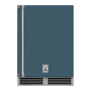 """Hestan24"""" Hestan Outdoor Undercounter Refrigerator (Solid Door) - GRSR Series - Pacific-fog"""