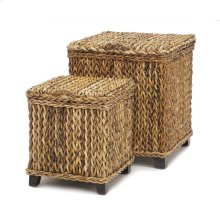 Maui Set of 2 Trunks Square