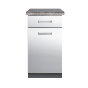 "Viking30""D. Base Cabinet - VBO1811 Outdoor Stainless Steel Cabinets"