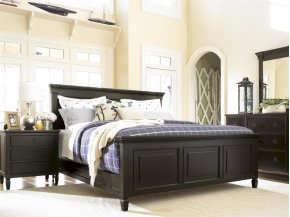 Panel Bed (King) - Midnight