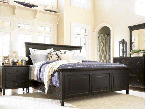 Panel Bed (Queen) - Midnight