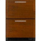 "Refrigerator/Freezer Drawers, 24""(w), Custom Overlay Product Image"
