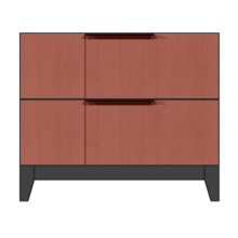 "28"" 2-Drawer Nightstand"