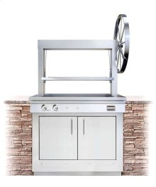 K750GB Wood-fired Built-in Grill