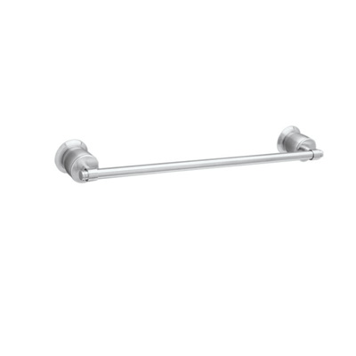 "Polished Chrome 18"" Wall Mount Single Towel Bar"