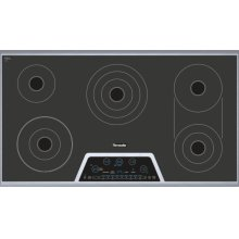 36 inch Masterpiece® Series Electric Cooktop CET366NS***FLOOR MODEL CLOSEOUT PRICE***