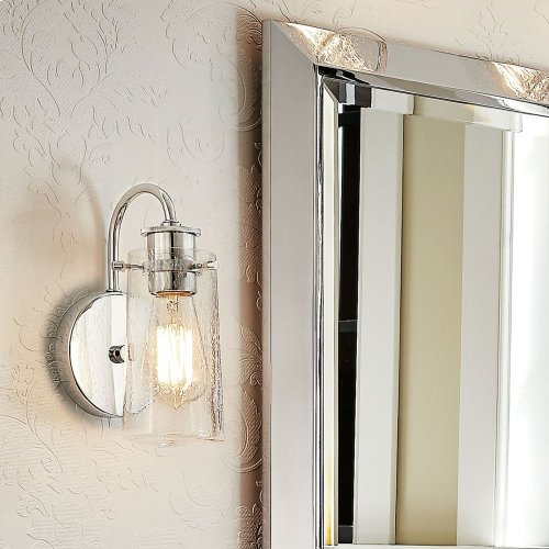 Braelyn 1 Light Wall Sconce Chrome