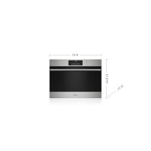 "Wolf24"" E Series Transitional Convection Steam Oven"
