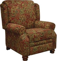 Reclining Chair - Claret