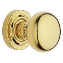 Lifetime Polished Brass 5030 Estate Knob