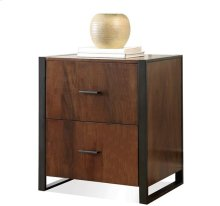 Terra Vista File Cabinet Casual Walnut finish