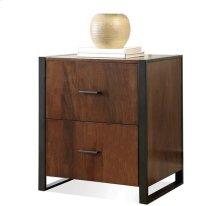 Terra Vista File Cabinet Casual Walnut finish