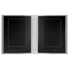 "Jenn-Air® Euro-Style 36"" Induction Downdraft Cooktop - Stainless Steel"