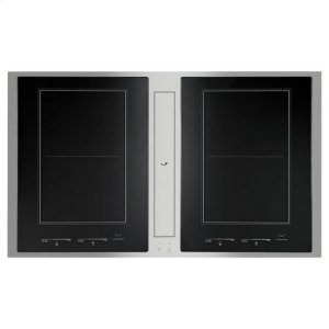 JENN-AIRJenn-Air(R) Euro-Style 36? Induction Downdraft Cooktop - Stainless Steel