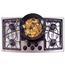 "GE Monogram® 36"" Stainless Steel Gas Cooktop (Liquid Propane)"