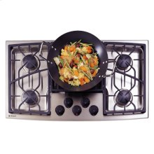 "GE Monogram® 36"" Stainless Steel Gas Cooktop (Liquid Propane)"