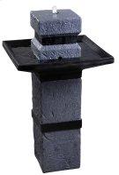 Monolith - Outdoor Solar Floor Fountain Product Image
