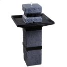 Monolith - Outdoor Solar Floor Fountain Product Image