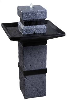 Monolith - Outdoor Solar Floor Fountain