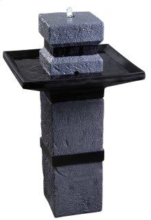 Monolith - Outdoor Solar Floor Fountain