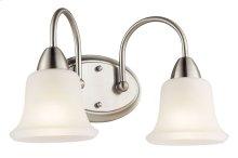 Nicholson 2 Light Vanity Light Brushed Nickel