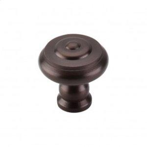 Step Knob 1 1/8 Inch - Oil Rubbed Bronze