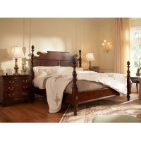 Bedford Pineapple Post King Bed Product Image