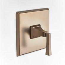 Leyden Pressure-balance Valve Trim with Lever Handle - Bronze