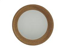 La Jolla Woven Round Mirror