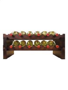 2 x 6 Bottle Modular Wine Rack (Stained)