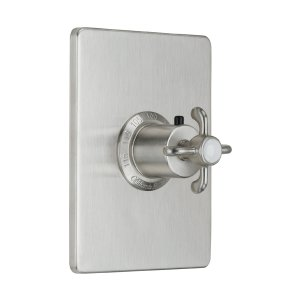 "Humboldt Styletherm (R) 3/4"" Thermostatic Trim Only - Lifetime Satin Gold"