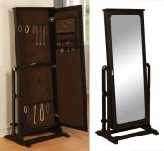 """Antique Black"" Cheval Jewelry Wardrobe Product Image"
