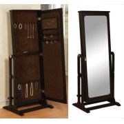 """Antique Black"" Cheval Jewelry Wardrobe Product Image"