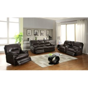 Lacrosse Furniture Dover Mocha Reclining Sofa