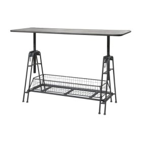 Henry Adjustable Metal Work Table