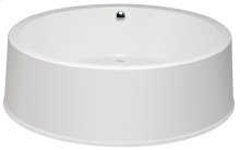 Tub Only/Soaker Round without Airbath