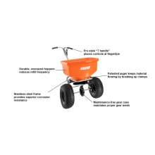 ECHO RB-100s Spreader Professional-Grade Spreaders That Hold Up To 100lbs