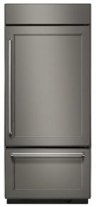 """20.9 Cu. Ft. 36"""" Width Built-In Panel Ready Bottom Mount Refrigerator Product Image"""