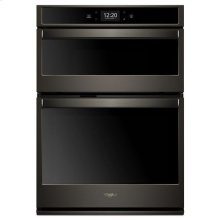 Whirlpool® 5.7 cu. ft. Smart Combination Wall Oven with Touchscreen - Black Stainless