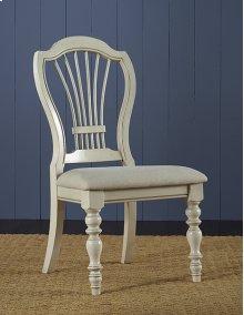 Pine Island Wheat Chair - Old White