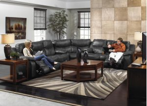 Reclining Sofa - Timber