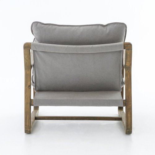 Robson Pewter Cover Ace Chair