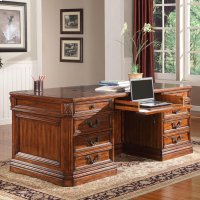 Granada Double Pedestal Executive Desk Product Image