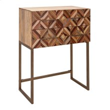 Shiloh Wood Side Table