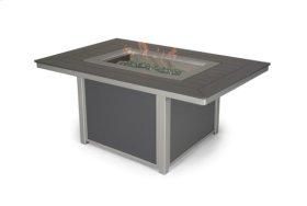 """36"""" x 54"""" Rectangular MGP Top Fire Table"""