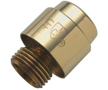 Vacuum Breaker with Check Valve for Handshowers - Antique Brass